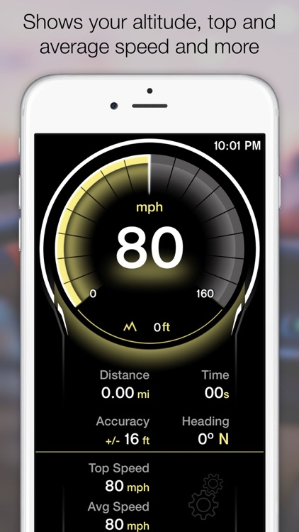 GPS Digital Speed Tracker Pro screenshot-4