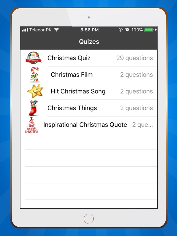 Christmas Trivia Quiz 2018 screenshot 8