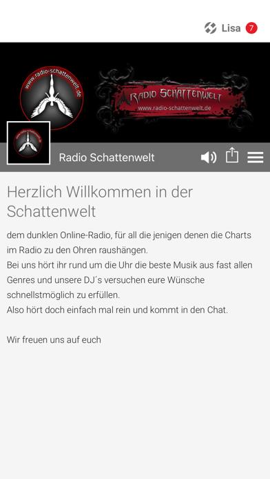 Radio Schattenwelt screenshot 1