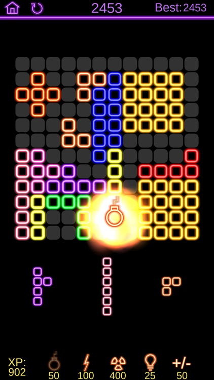Neon Poly - Hexa Puzzle Game screenshot-4