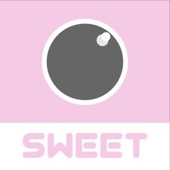 SweetCamera ピンクに写真加工できるカメラアプリ
