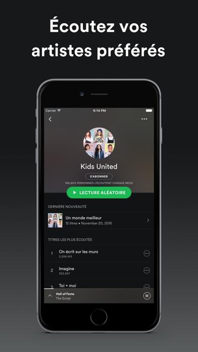 Spotify est disponible sur iPad-capture-2