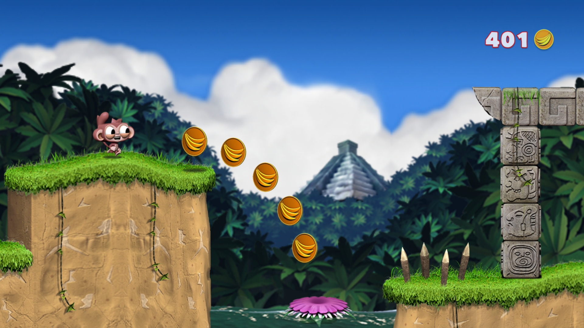 Dare the Monkey: Go Bananas! screenshot 14