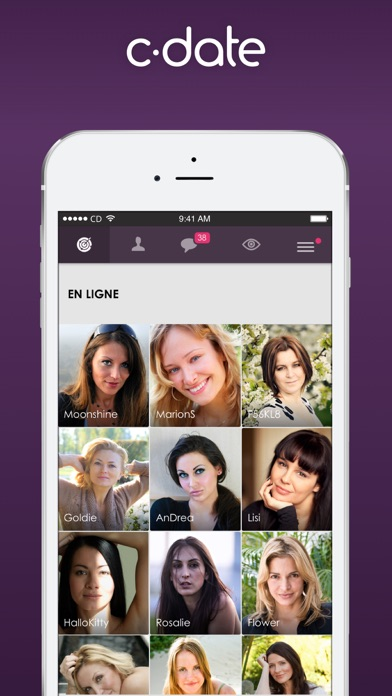 download C-date – Dating with live chat apps 3