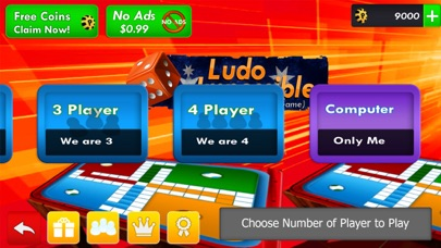 Ludo Impossible Pachisi Game screenshot 5