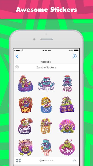 Zombie Stickers stickers