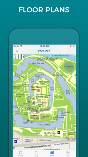 Osaka Castle Guide and Maps on the App Store