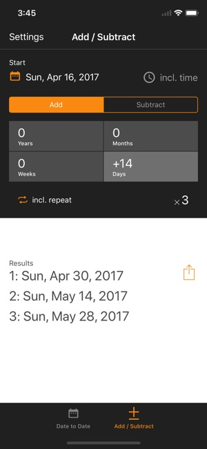 Time & Date Calculator on the App Store