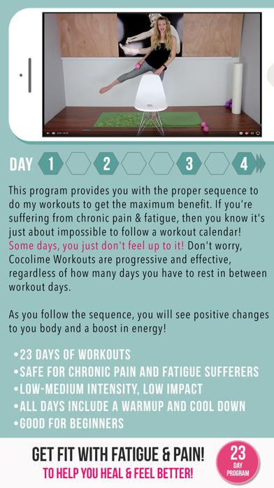 Fibromyalgia & Fatigue Fitness screenshot 3