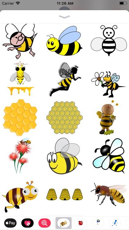 Honeybee Sticker Pack screenshot-4