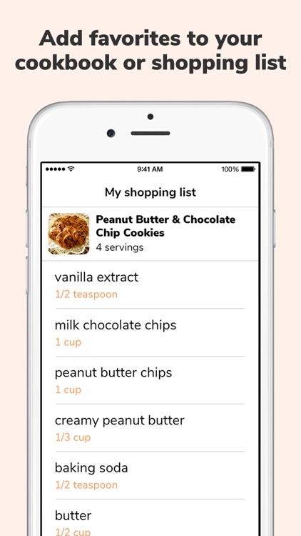Diced: tasty recipe sharing screenshot-3
