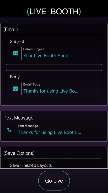 (Live Booth)  Photo + Video