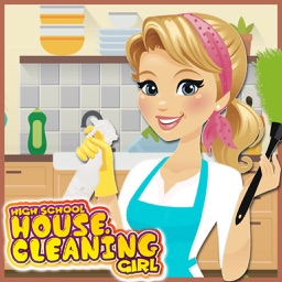 House Cleaning HighSchool Girl