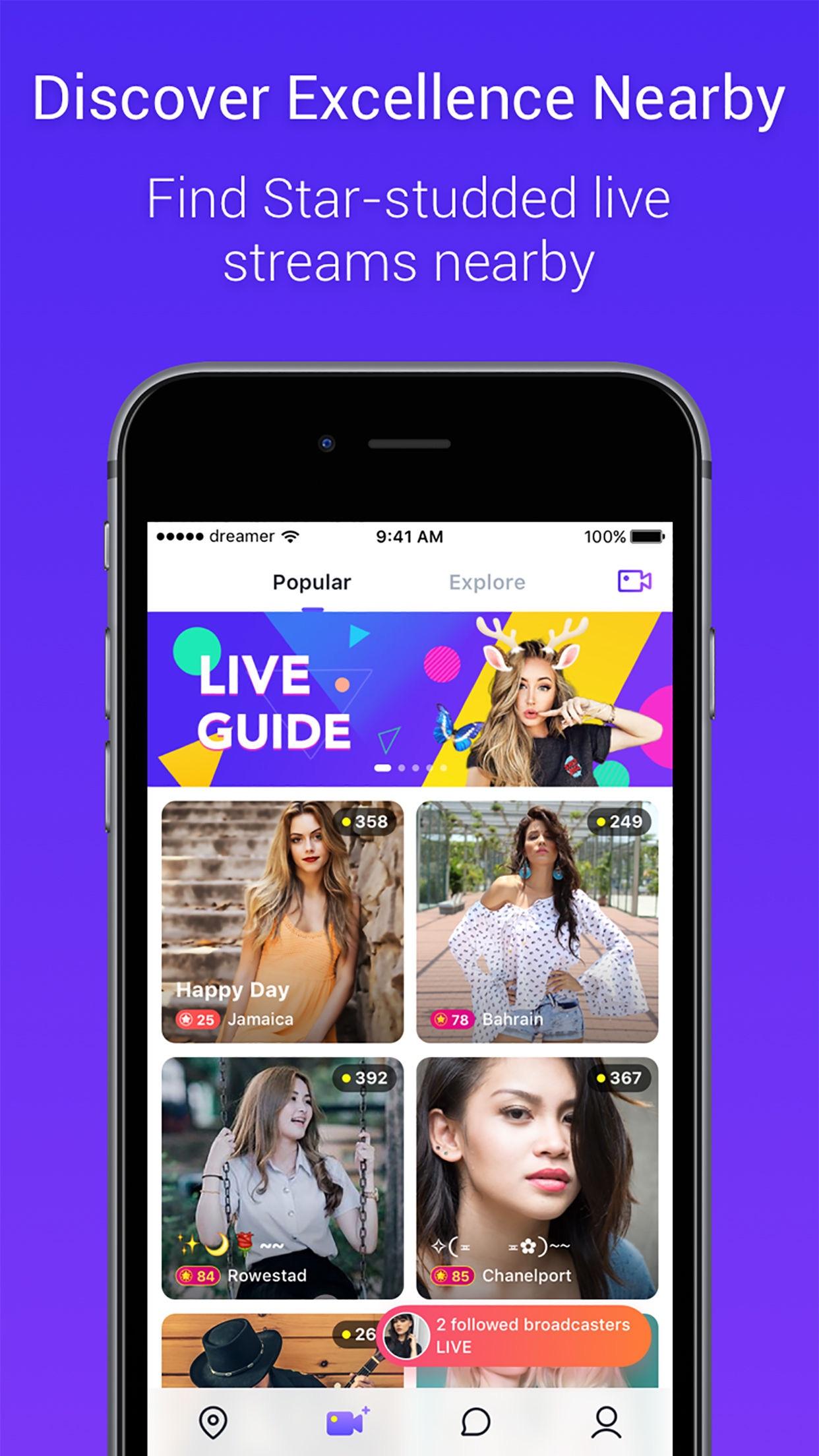 Mico - Live Streaming Screenshot