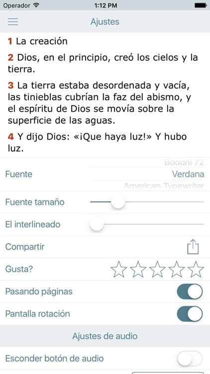Biblia Cristiana en Español screenshot-4