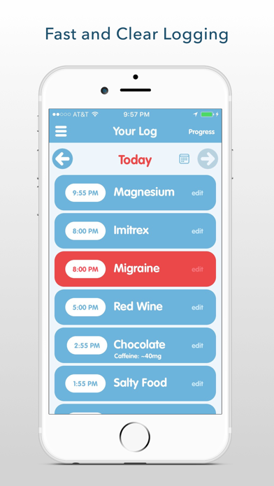 Migraine Insight: Tracker Screenshots