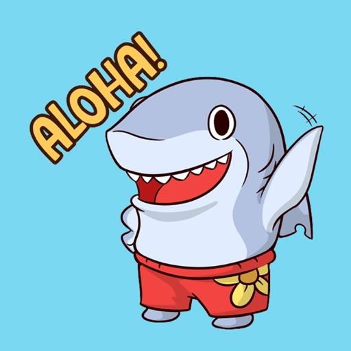 Surfer Shark for iMessage