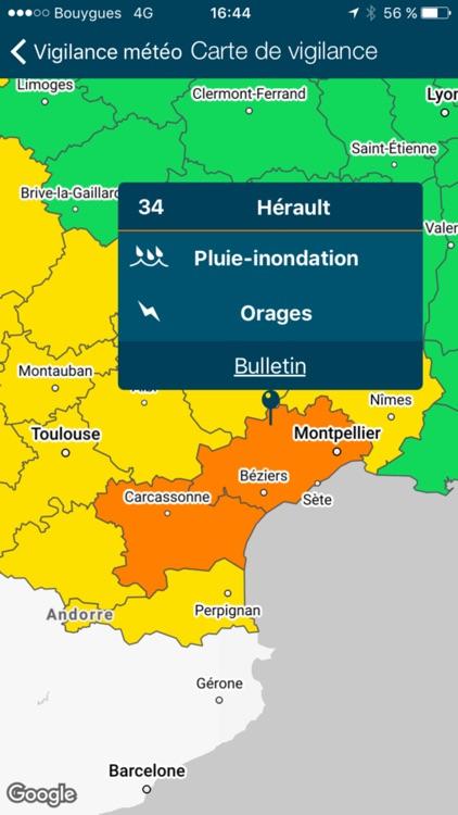 Météo-France screenshot-4