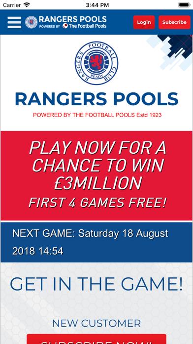 Rangers Pools screenshot two