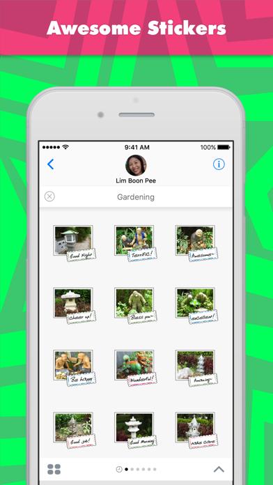 点击获取Gardening stickers by wenpei