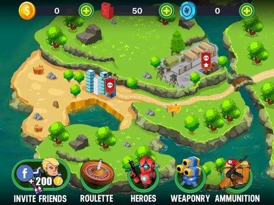 Turret Defense: BTD Battles screenshot #1