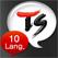TS 10개국어 회화 번역기
