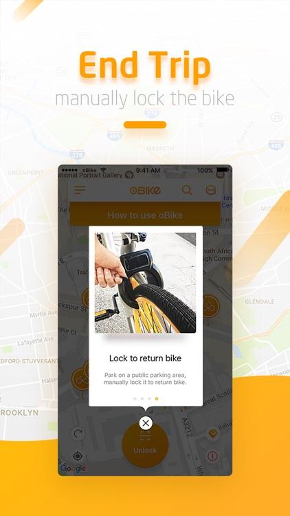 oBike - Bike Sharing screenshot-4