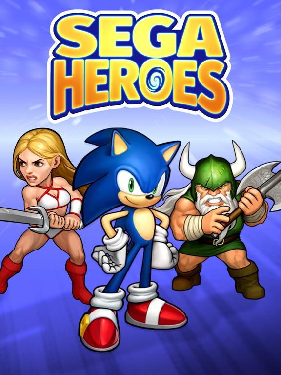 SEGA Heroes: RPG Match 3 Games screenshot 7