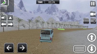 驾驶的越野雪公交车司机 2018年 旅游巴士 App 截图