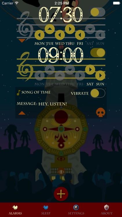 Hyrule Alarm Clock screenshot-3