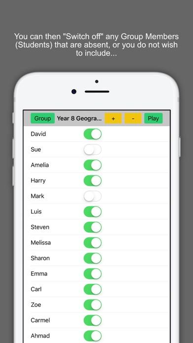 Random Team Selector Starter screenshot four