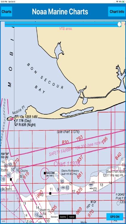 USA Marine Charts NOAA MGR screenshot-3