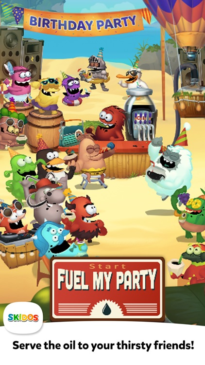 Fuel My Party: Kids Cool Math screenshot-6