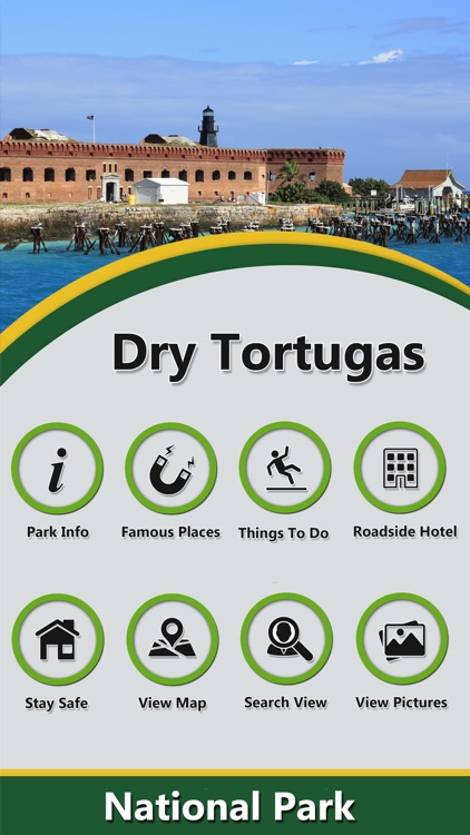 Dry Tortugas In -National Park