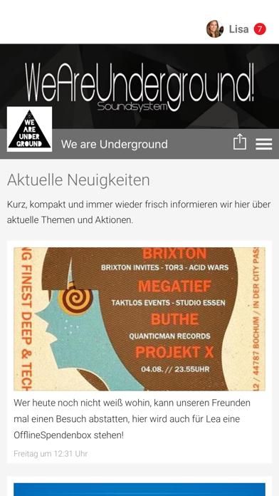 点击获取We are Underground