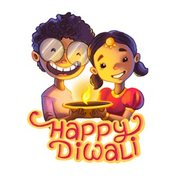 Stickers for whatsapp Diwali