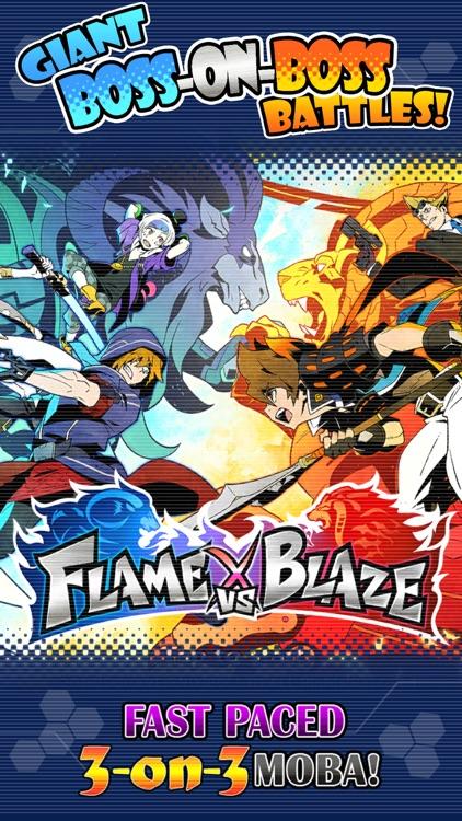 FLAME VERSUS BLAZE