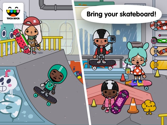 Toca Life: After School screenshot #2