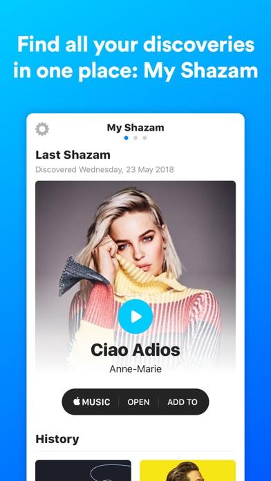 Shazam Encore review screenshots