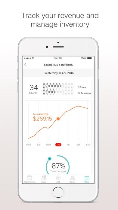 BooksyBIZ: Track Your Business Screenshot