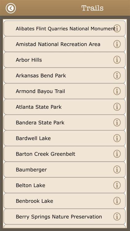 Texas - Camps & Trails,Parks screenshot-3