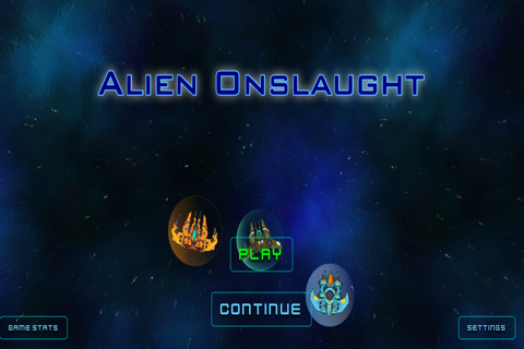 Aliens Onslaught - náhled