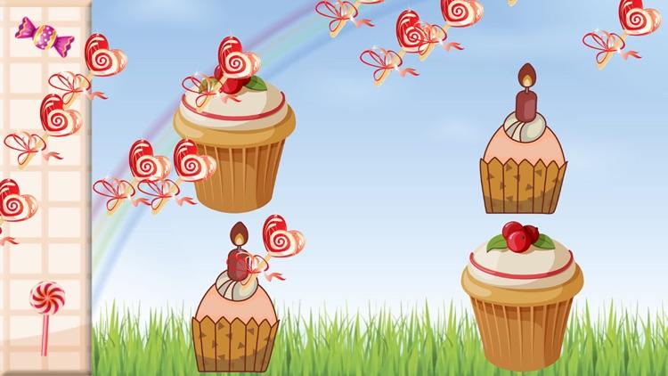 Candy & Cake Match Kids Games