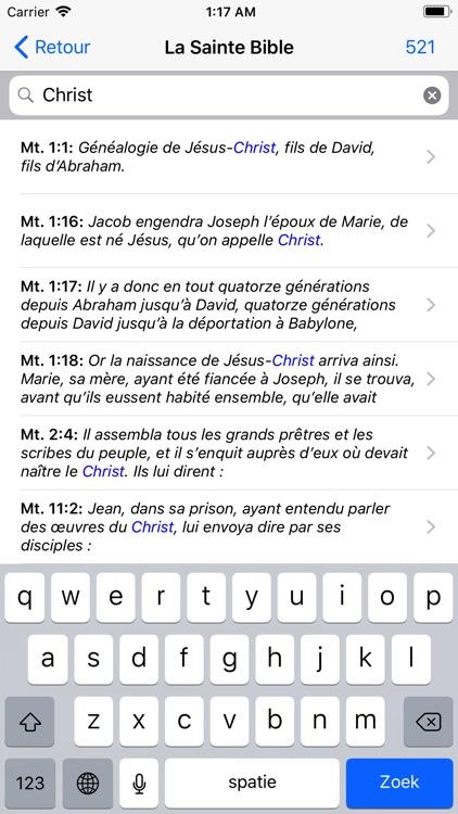 La Sainte Bible screenshot-6