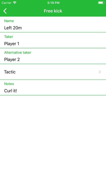Football Team Assistant screenshot-6
