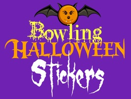 Bowling fans and players celebrate Halloween with stickers