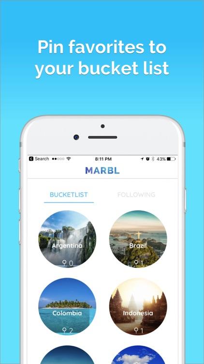 MARBL- Millennial Trip Planner