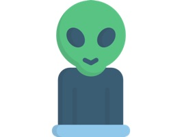 Alien Stickers - Outer Space