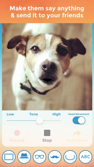 Screenshot of My Talking Pet App