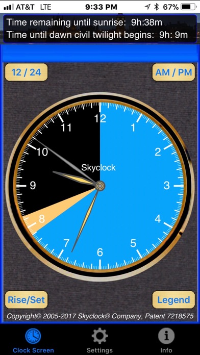 Skyclock 2.2 Screenshots